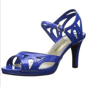 NEW-Bella Vita 'Claudette II' Cobalt Blue Heel-8.5